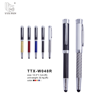 2018 Luxury designed Fashion Hotel Promotion Metal Twist Carbon Fiber Ballpoint Pen