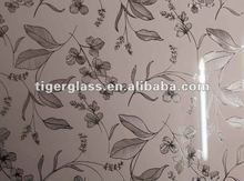 stereo pattern pink glass decorative wall mirror glass tile
