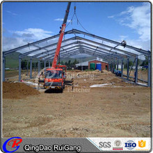 prefabricated steel structure dairy cow shed