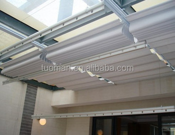 Electric roof sunshade