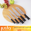 new design cutlery set steel head knife set