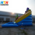 professional supplier most popular gaint inflatable water slide
