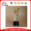Wholesale cheap polyresin Praise abstract trophy for sale
