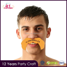 Merchandising Promotional Custom Printed EVA Foam Cheering Mustache How to Advertise