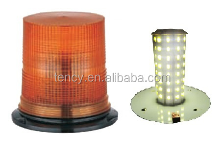 New! Auto LED Warning Beacon with E-mark (KF-WB-30D), 80 Topbright 5730 SMD,aluminum base,tough and durable