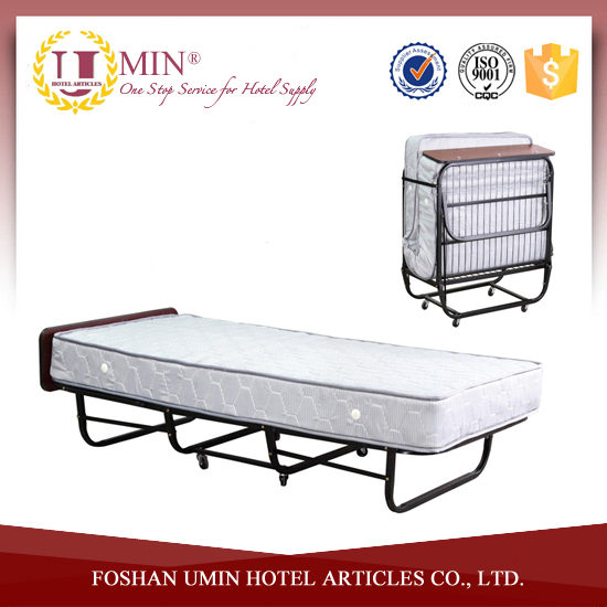 Metal Single Folding Cot Bed