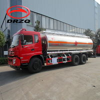 20000L capacity fuel delivery tank truck for sale, used fuel tank truck, oil transport truck