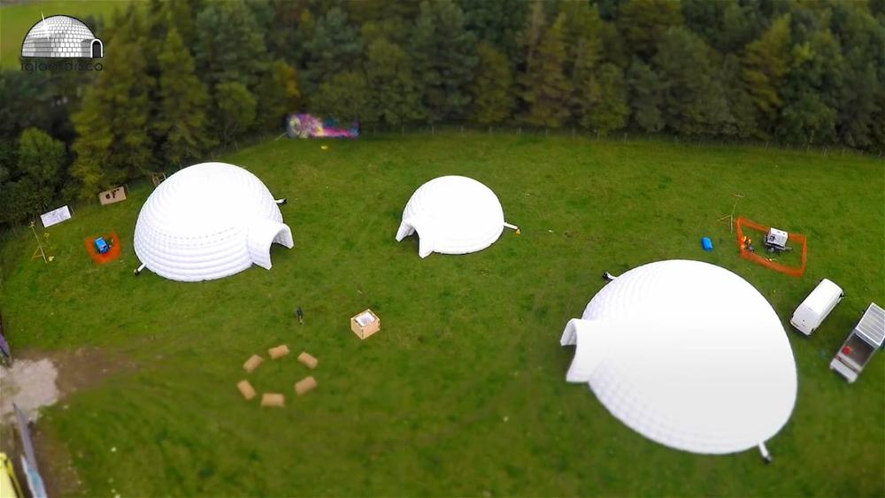 New giant commercial product inflatable yurt tent for sale