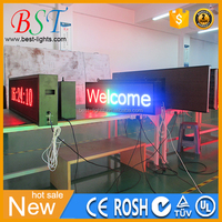 Indoor Usage and Graphics Display Function message display led moving sign