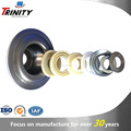Chinese manufacturer tube roller metal bearing support with Nylon sealing 6305