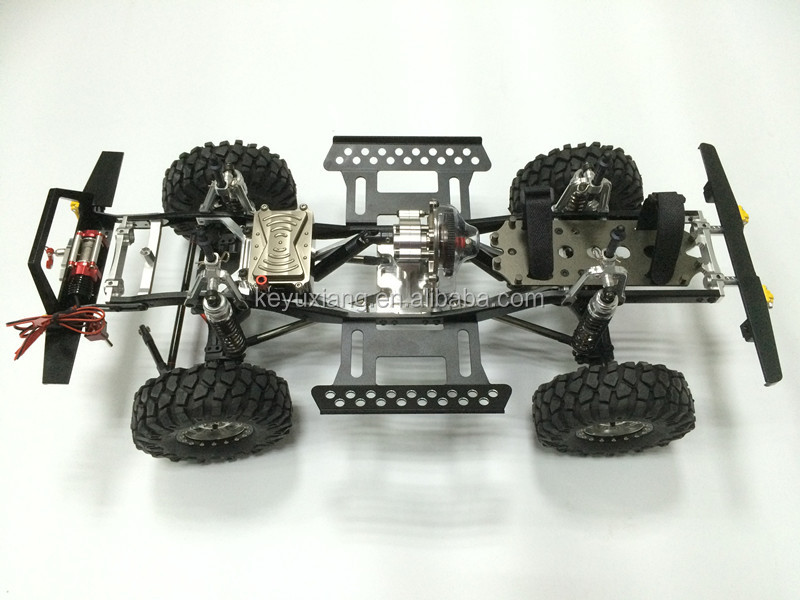 RC CAR 4WD heavy metal processing for, scx-10 ,1/10(wheelbase: 290mm)