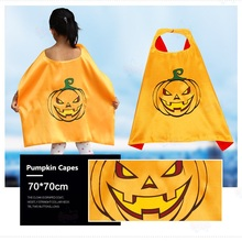 Wholesale high quality cosplay cloak kids halloween cheap capes with masks
