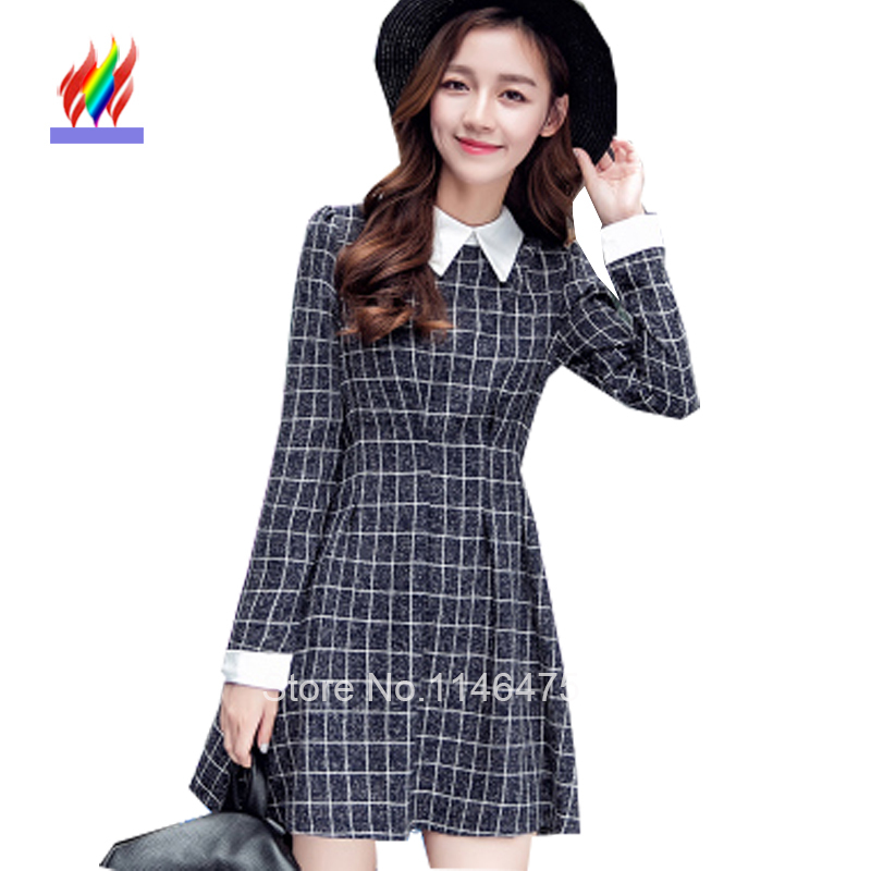 Image of: Korean Style Get Quotations Hot Selling New Fashion Korean Preppy Style Women Cute Winter Clothes Elegant Long Sleeve Slim Fit Cheap Korean Cute Clothes Find Korean Cute Clothes Deals On Line At