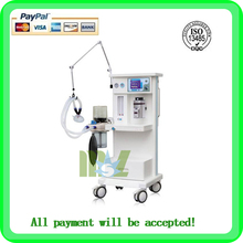 MSLGA02W Portable Vet Anesthesia Machine with External and reusable soda lime canister