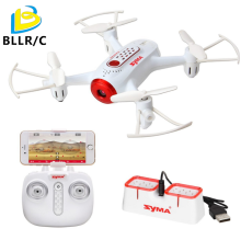 Newest SYMA X22W RC Quadcopter FPV Wifi Real Time Transmission Headless Mode Hover Function Drones With Camera Free shipping