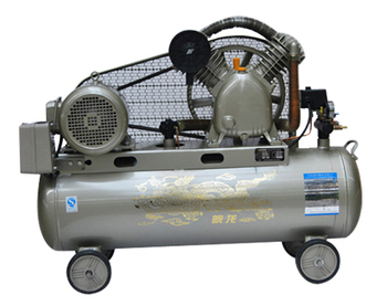 piston air compressor 5.5hp 200L 12.5bar 175psi cylinder 90x1+65x1