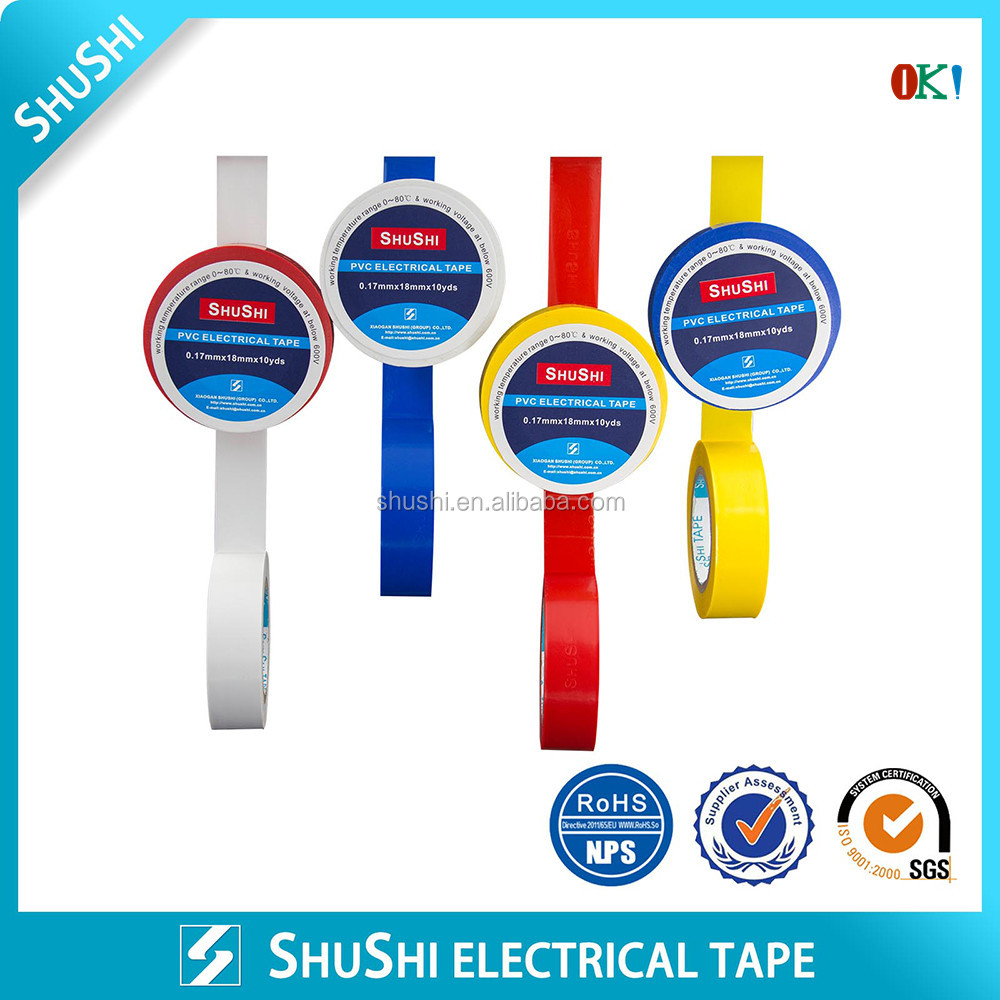 Cheaper Price Factory Supply PVC Insulating Tape High Voltage Appliance