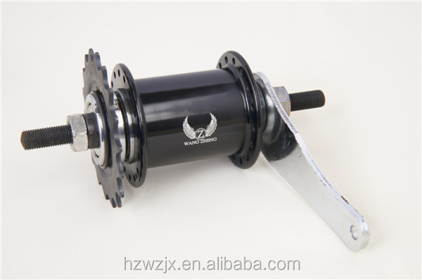 WZ-A287R China factory wholesale 32-36H aluminum rear bicycle hubs / fixed gear bikes flip flop rear hub / fixie rear hub
