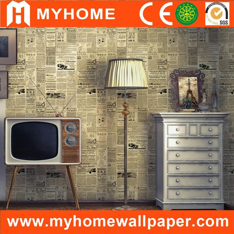 Cheapest price newspaper vinyl wallpaper manufacturers for Wallpaper manufacturers