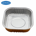 Aluminum foil container for cake pan disposable 8011