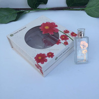 The Fashion Design Perfume Paper Package Box with PVC Window