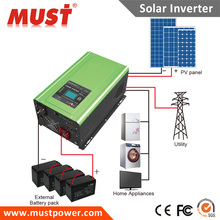 MUST BRAND Low frequencey MPPT power star inverter 5000W 48V solar MPPT pwm PV inveter for house applicances