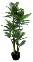 artificial bamboo plant evergreen leaves artificial palm artificial green plants