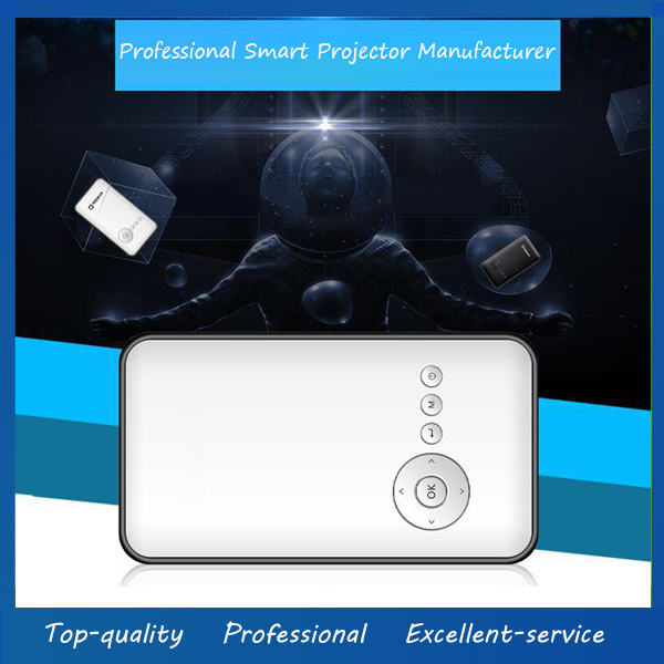Portable DLP Projector LED Android Smart Mini Projector Built-in HDMI WIFI 3D For Android Phone