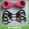 Wholesale customized silicone handcuffs sex toy , colourful cheap handcuffs for promotion gift