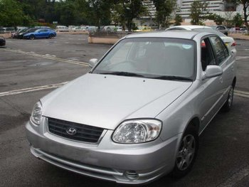 2005 HYUNDAI ACCENT /KMHCH41GR5U-633292/ Used Car From Japan (39124)