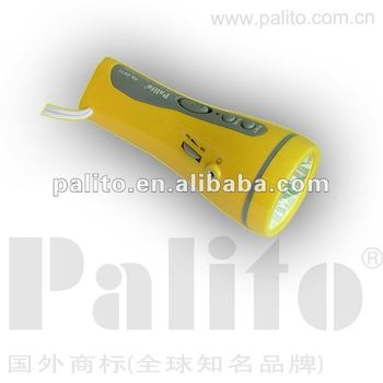 PALITO LED Flashlight With Radio
