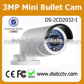 camaras de seguridad hikvision 3mp ir bullet camera ds-2cd2032-i