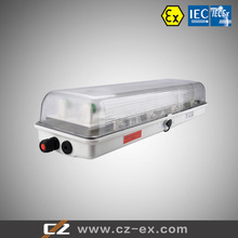 manufacturing explosion proof 2x36w fluorescent light fittings with 3 years warranty