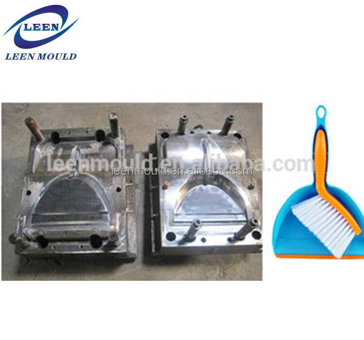Custom Made Plastic Injection Mould Manufacturer For Commodity Broom Mould And Dustpan Mould