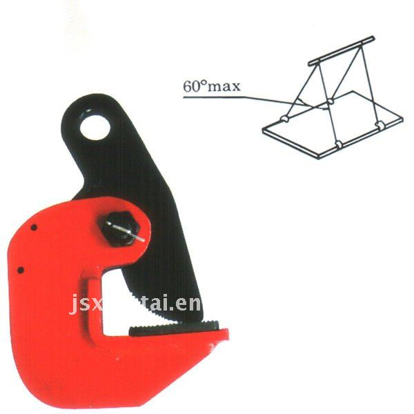 LA horizontal plate lifting clamp
