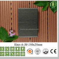 Balcony Waterproof Outdoor Floor Covering / Wooden Outdoor Furniture