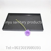 China supplier custom plastic food trays serving tray with large size