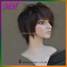 hot sales male wig fashion young boy synthetic hair wig