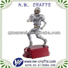 Custom toy football player figure