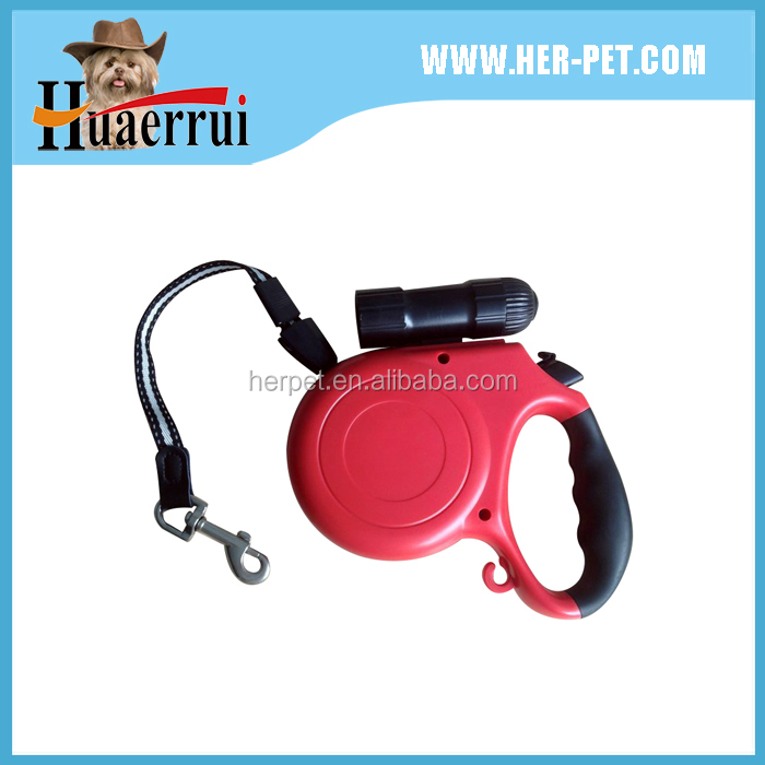 2016 New design large retractable pet dog leash with 5m tape for dog up to 40kg