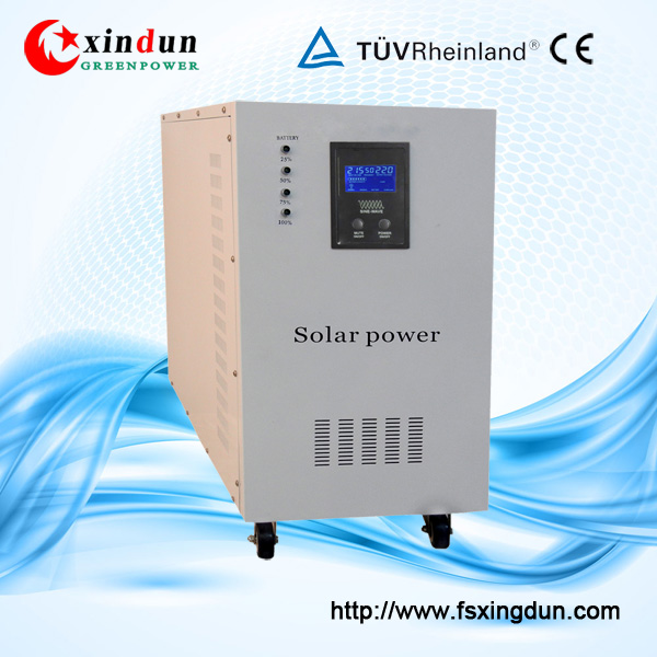 500W 1000W 2000W 3000W 4000W 5000W Solar Inverter with Built in controller, batteries and panels
