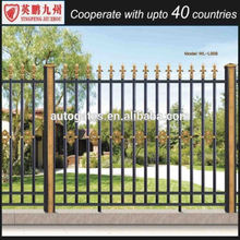 Hot sale y type metal picket fence/metal star picket for sale