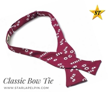 cheap funny double sided self tie bow tie