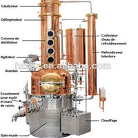 Rum Vodka Gin Whisky Distillation Equipment