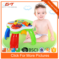 Electric intelligent kids study desk learning table toys with music