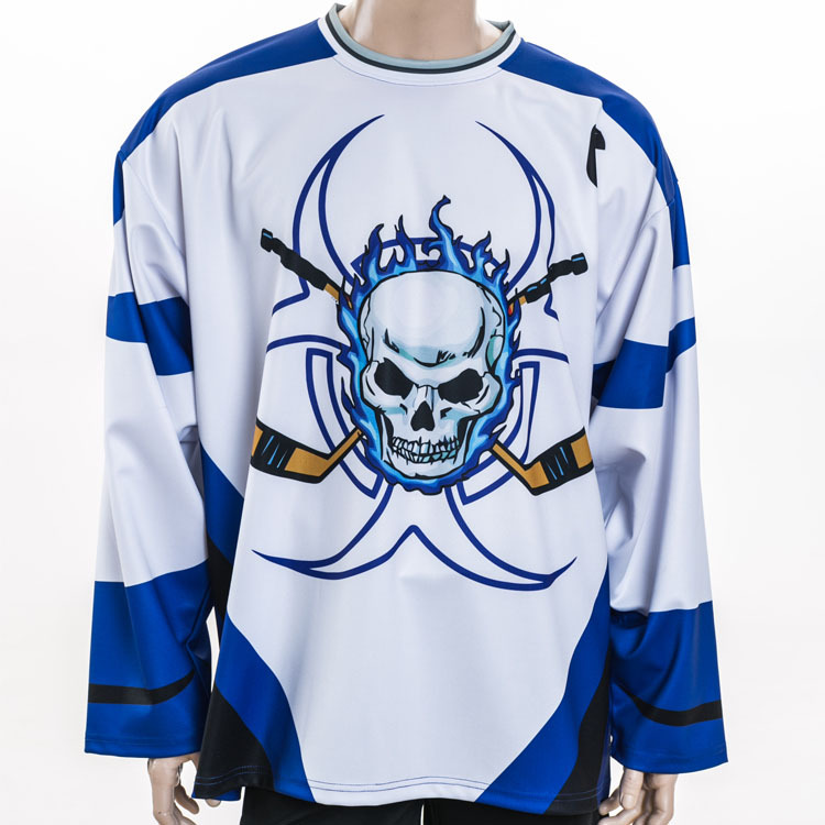China Latest Design Custom Funny Wholesale Blank Cheap Team Set Hockey Jersey