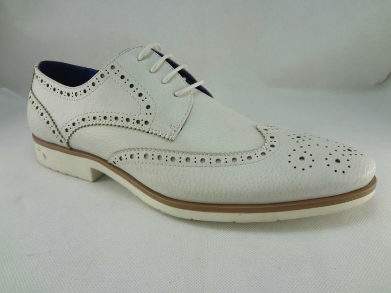 men dress shoes white leather