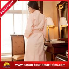 OEM hotel waffle robe sauna bathrobe unisex terry toweling bathrobes
