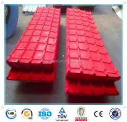 AMMJIS G3312 ms coloured corrugated steel sheet/corrugated steel roofing sheet