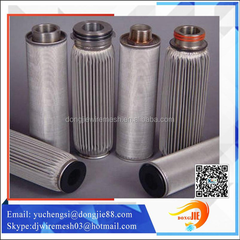ISO9001 Factory Stainless Steel Screen Filter For Filter Element